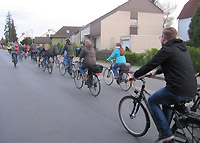 Erste Critical Mass in Wolfenb�ttel